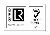 ISO 9001 AND ISO 13485+UKAS-CMYK